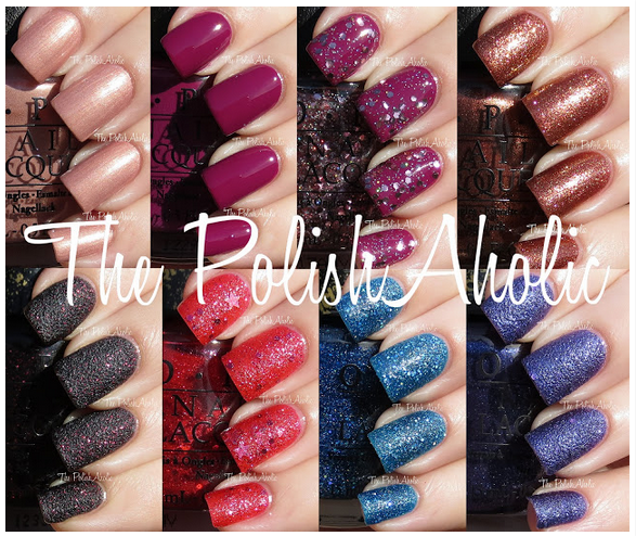 The Polish Aholic swatched the entire Mariah Carey collection. Click the pic to check out her post and admire her great shots.