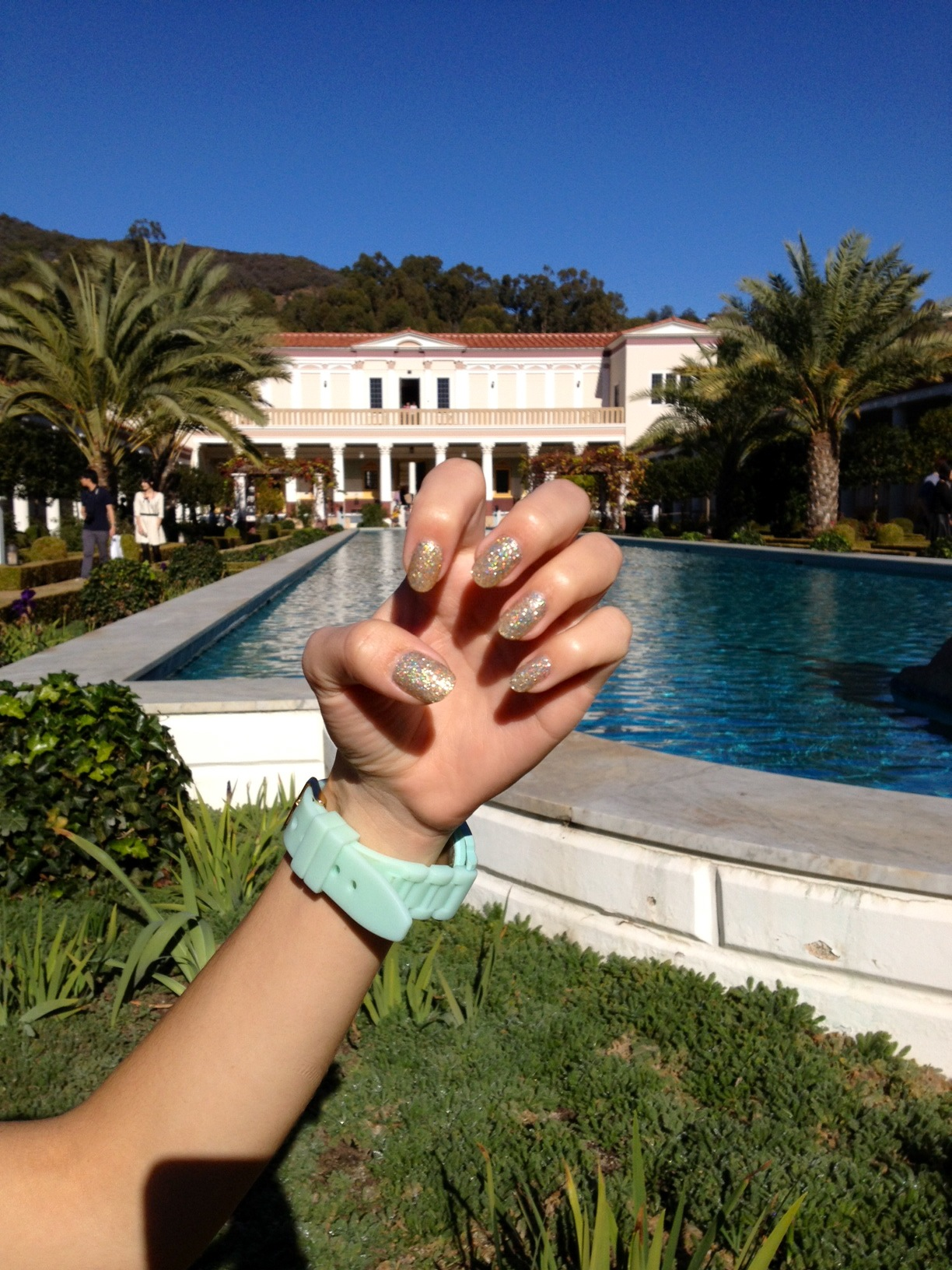 Nailz & I had a lot of fun at The Getty Villa. Gorgeous day!