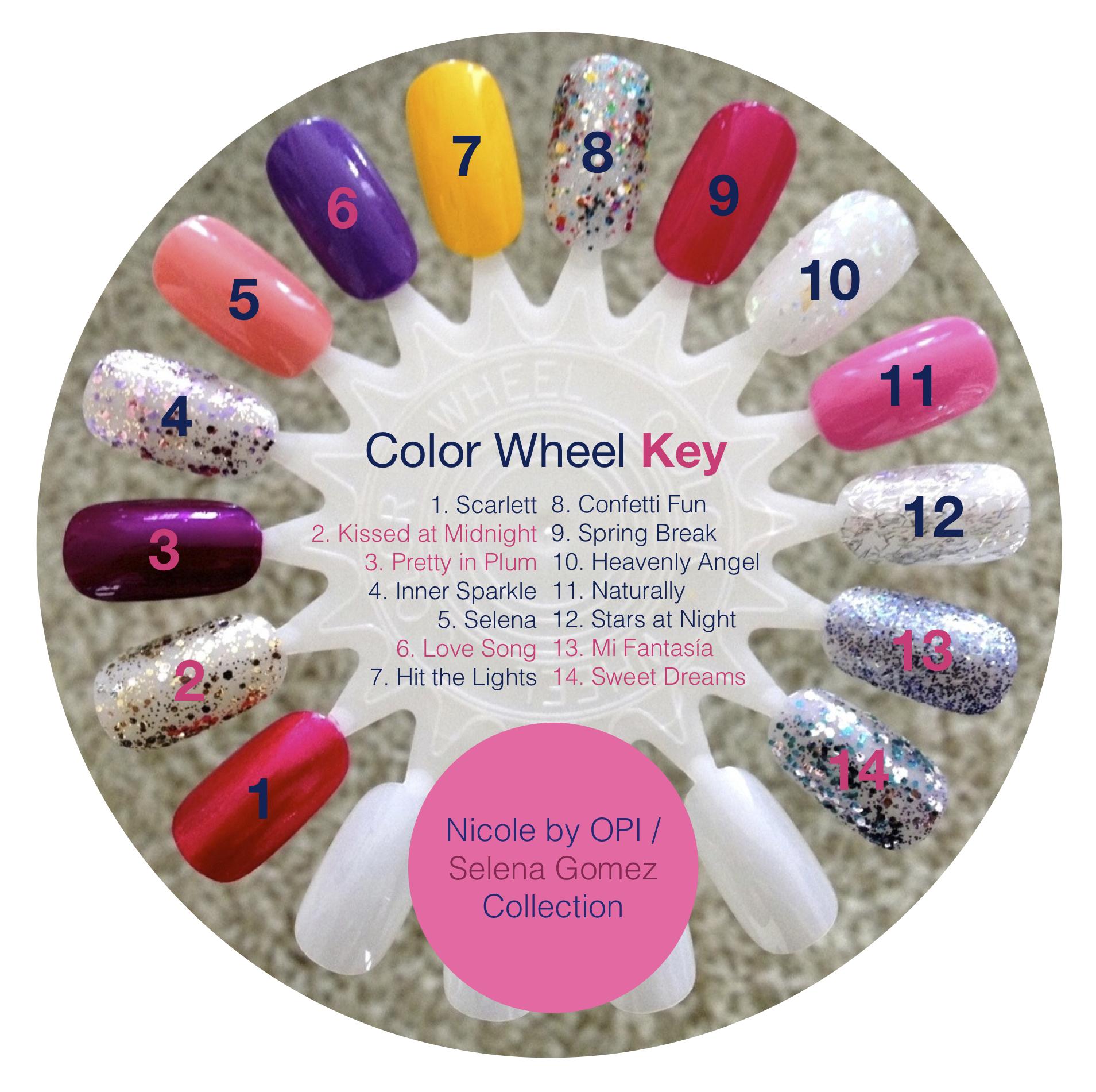 selena gomez_complete color wheel