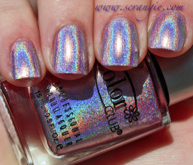 Scrangie's got THE best swatches of the entire collection. Click the pic to check out her post.