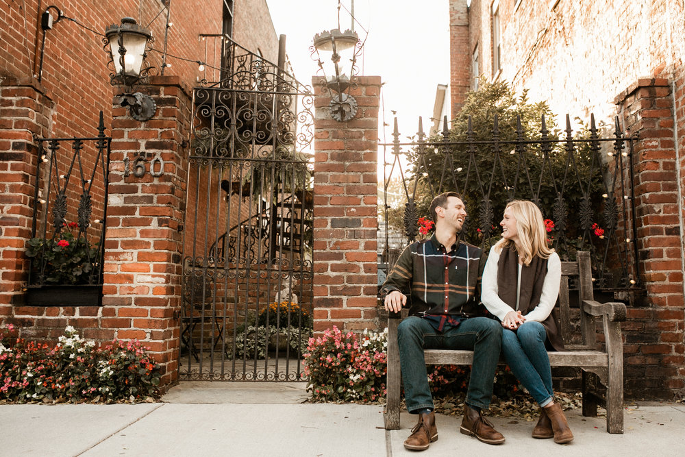 downtown-zionsville-engagement-picture