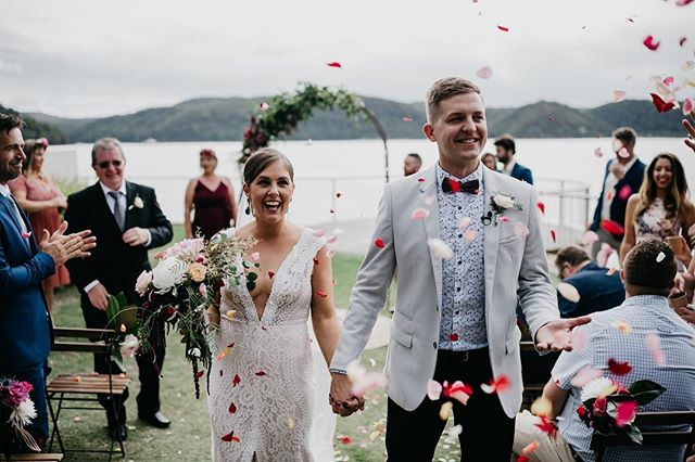 〰THAT NEWLYWED SMILE 〰 Happiness absolutely radiating out of Sally & Adam as they walked hand in hand down the aisle 💕 Photography by @jasoncorrotophoto Ceremony set up & styling by @wavesandweddings Floral Arch + Bouquets + Pins by @thebridescollection :: :: #thebridescollection  #madebyme #bouquet #weddingbouquet #flower  #flowers #northernbeacheswedding #bridetobe #bride #groom #wedding #weddingflowers #weddingfilm #weddingcake #loveislove #love #peatsbite #flowersofinstagram #flowerstagram #flowercrown #flowerstalking #flowershop #shoplocal #smallbusiness #weddingreception #shesaidyes #ido #florist