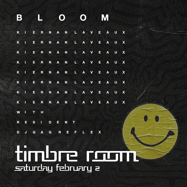 💥Tomorrow night💥 @kiernanlaveaux returns to Seattle to play Bloom with TUF's @cisless.in.seattle at @timbreroom. Prepare for maximum rave vibes 🌪🕳