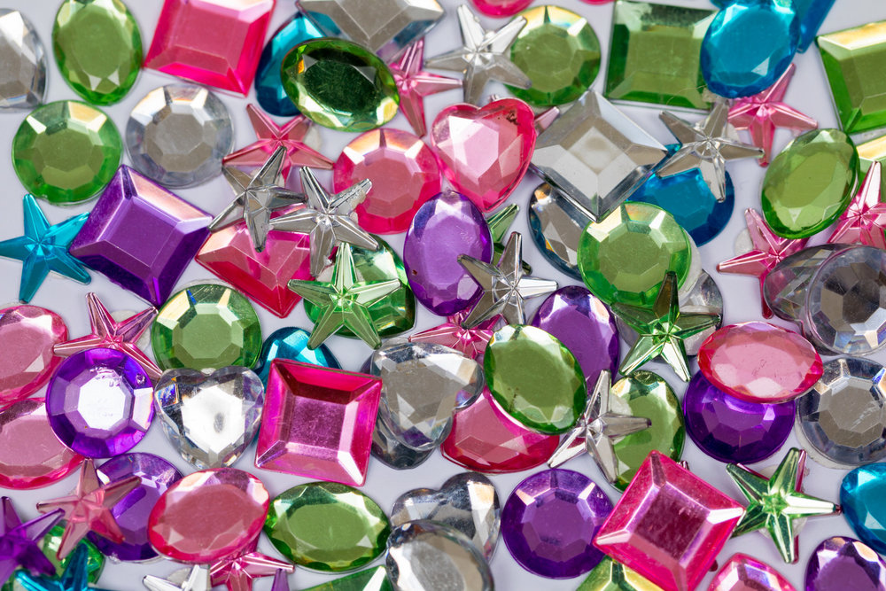 ADHESIVE GEMS & JEWELS