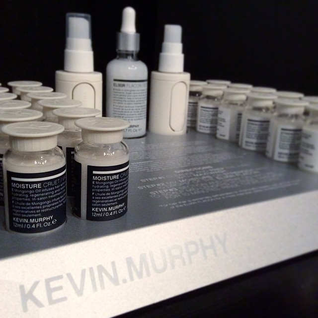The new Kevin Murphy Treat Me range is now in the salon. The range is skin care inspired to deliver deep conditioning, shine and nourishment with lasting results. Come in any try one of these treatment experiences today #kevinmurphy #treatme #moisturecruet #strengthcruet #goldcoastsalon