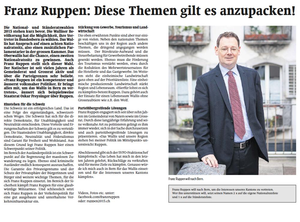 Franz-Ruppen_Walliser_Bote