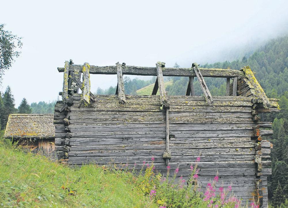 Erhalt von alpinem Kulturgut kontra zerfallende Ruinen - Walliser Bote - 23. Februar 2018