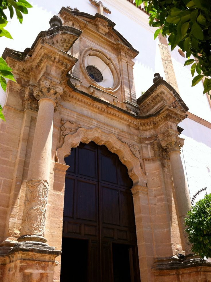 The entrance to our church; Iglesia de Nuestra Senora  de la Encarnacion de Marbella