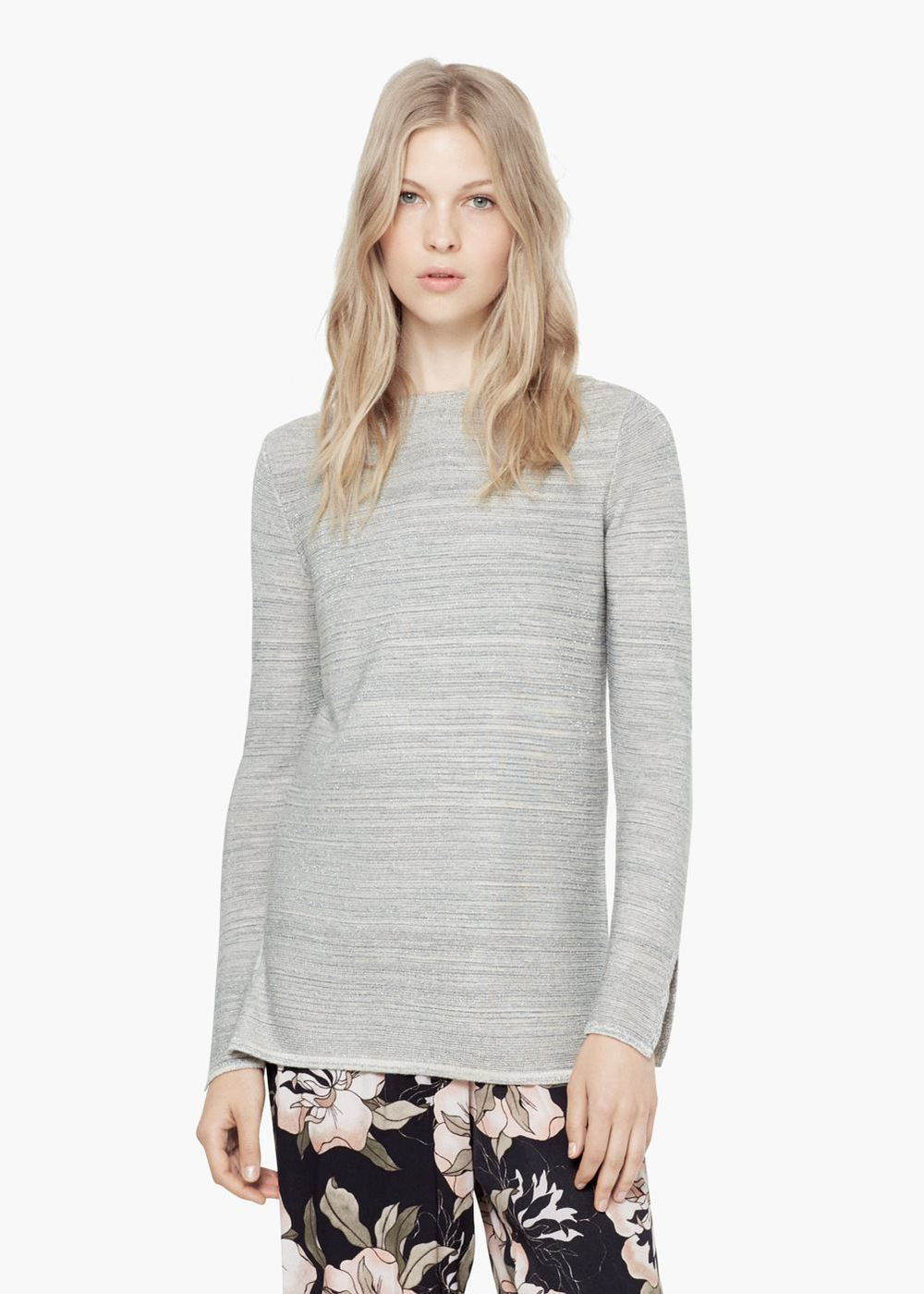 Metallic Finish Sweater €29.95 R EF. 53045693