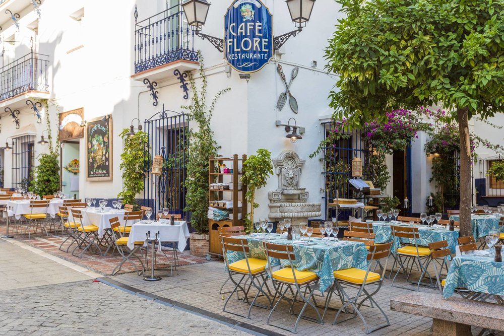 Cafe Flore Marbella Old Town
