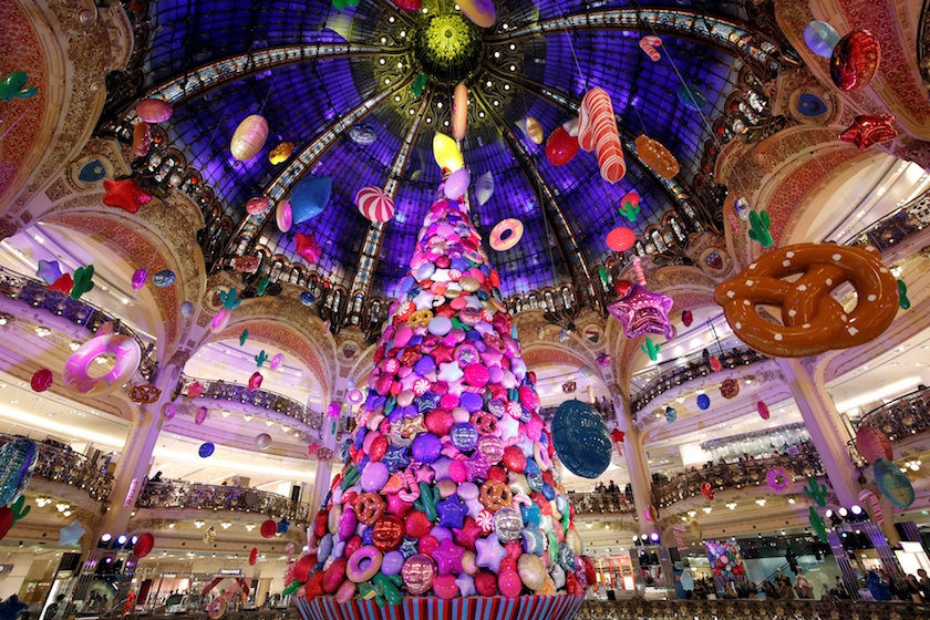 Christmas 2017 at Galeries Lafyette
