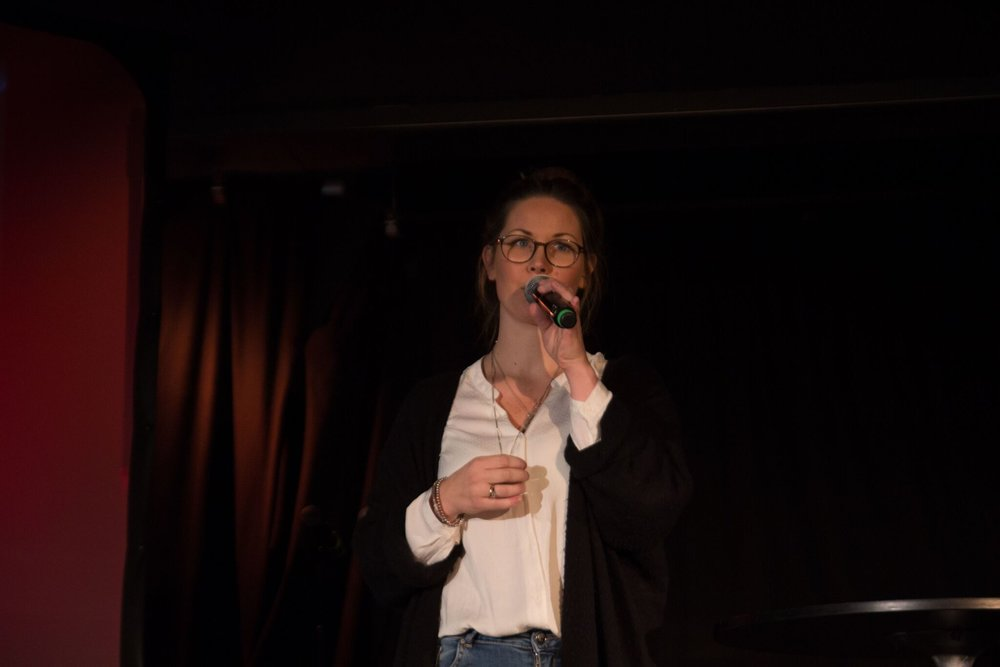 Flere av Balansekunsts nesten 50 medlemsorganisasjoner inspirerte publikum gjennom å fortelle om eget arbeid med likestilling i musikken.Foto: Lasse Fosshaug/NOPA