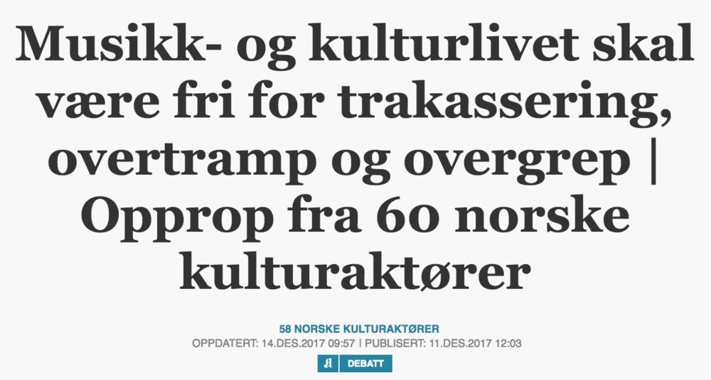 Skjermdump: Aftenposten.no