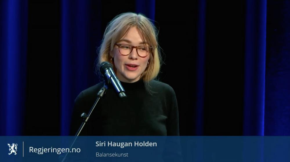 – Visjonen om et fritt kulturliv kan ikke forveksles med forestillingen om at kulturen ikke har et samfunnsansvar, sier Siri Haugan Holden, prosjektkoordinator i Balansekunst, på nasjonalt innspillsmøte om ny kulturmelding.