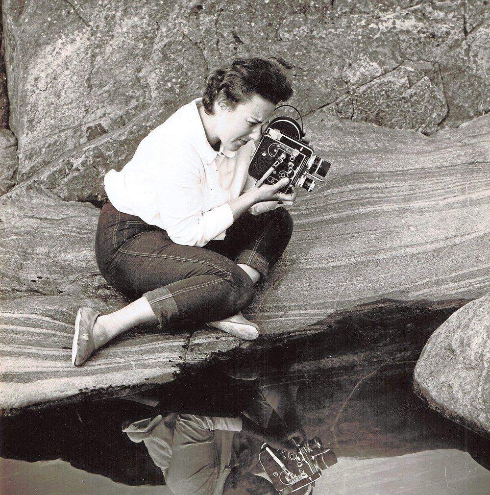 Den finske fotografen Claire Aho. Foto: Wikimedia Commons