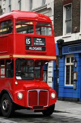 How to Travel by Bus in England