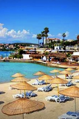 The Beaches of Cesme, Turkey