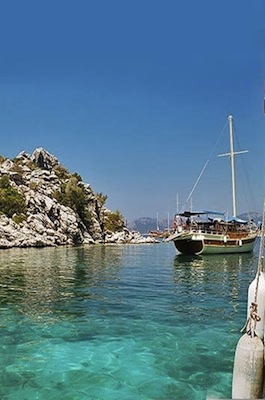 The Beaches of Marmaris, Turkey