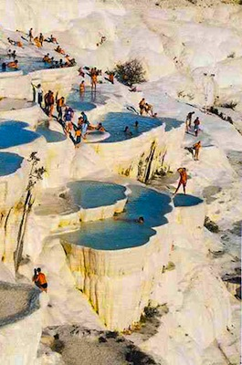 Do as the Romans Did: Dip In an Ancient Spa in Pamukkale, Turkey
