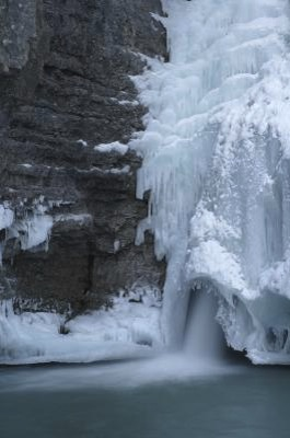 Waterfall Ice Climbs in the Canadian Rockies