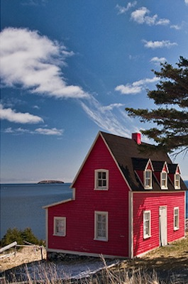 Oceanfront Cabins in Newfoundland