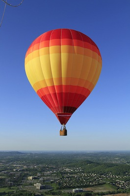 Hot Air Balloon Rides Near Woodstock, New York