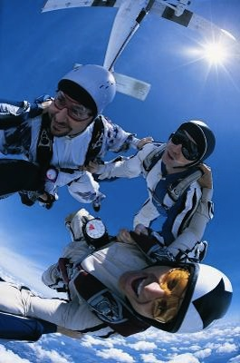 Skydiving in Rosharon, Texas