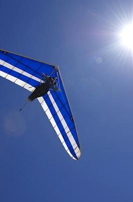 Hang Gliding in El Dorado Hills