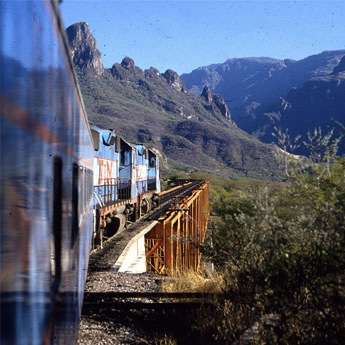 Taking the Train Through Mexico's Copper Canyon