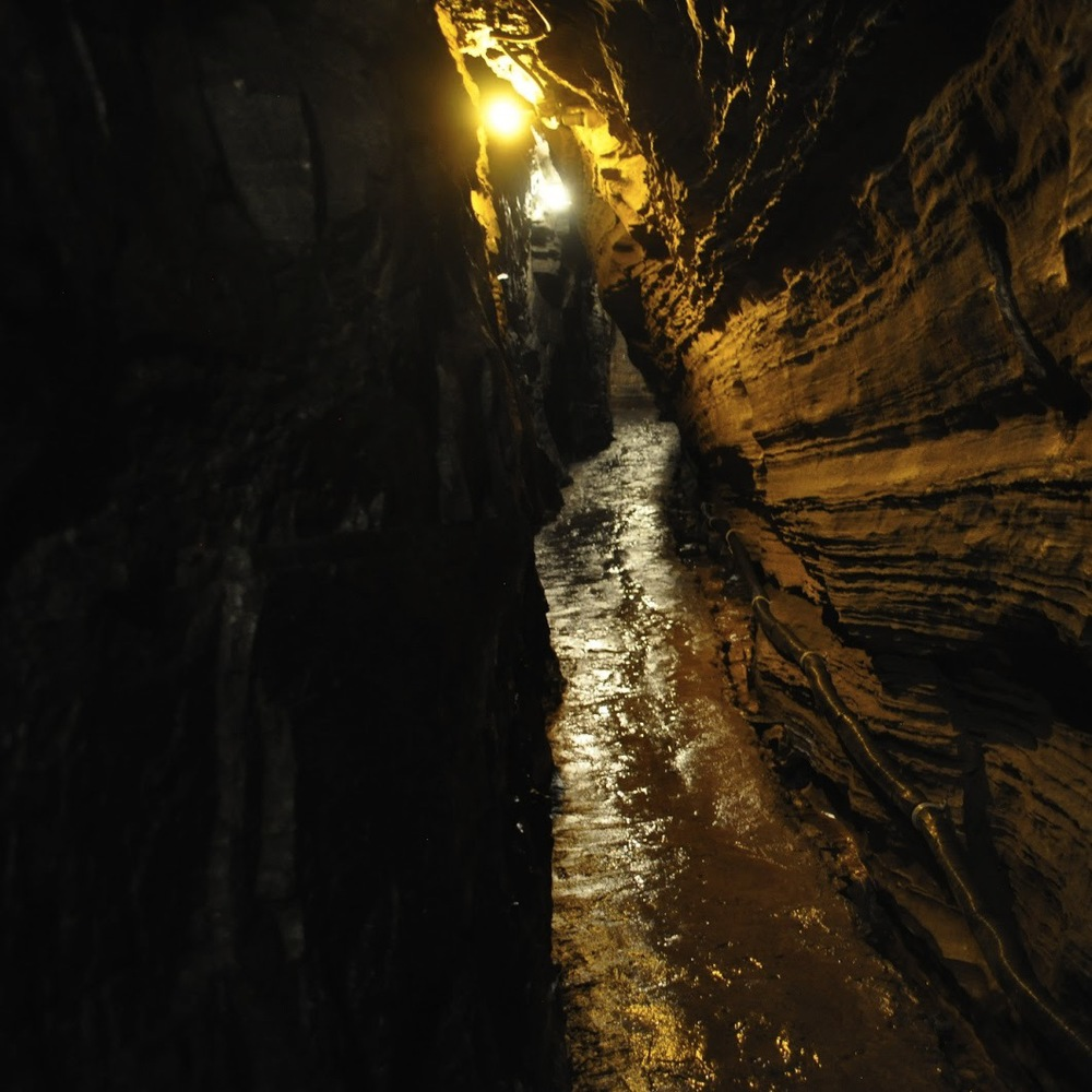 Spelunking in Upstate New York