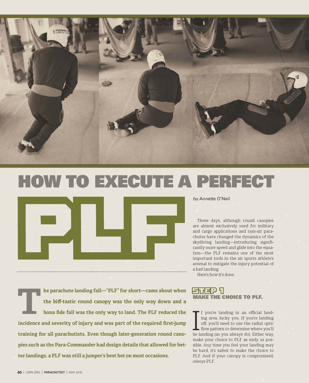 How to Execute a Perfect PLF