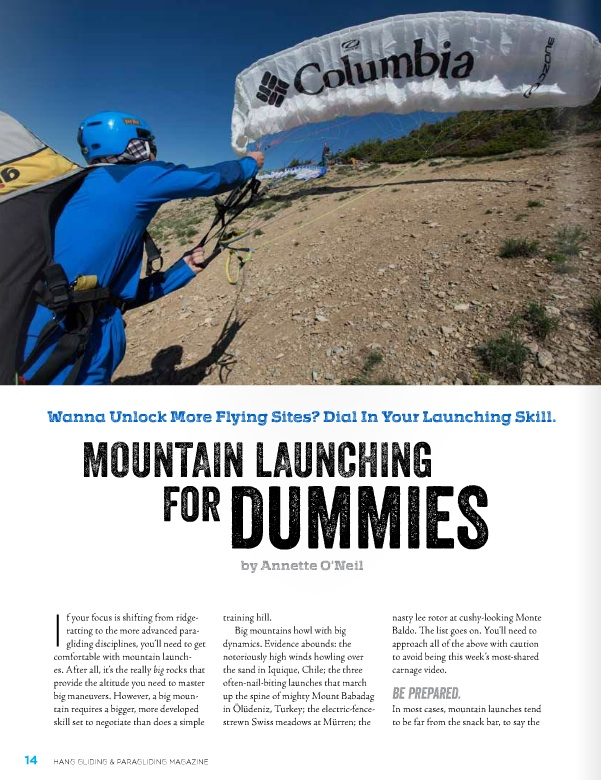 Mountain Launching for Dummies