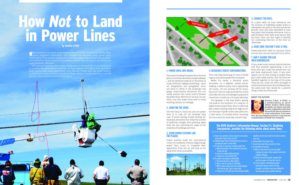 How *Not* To Land In Power Lines