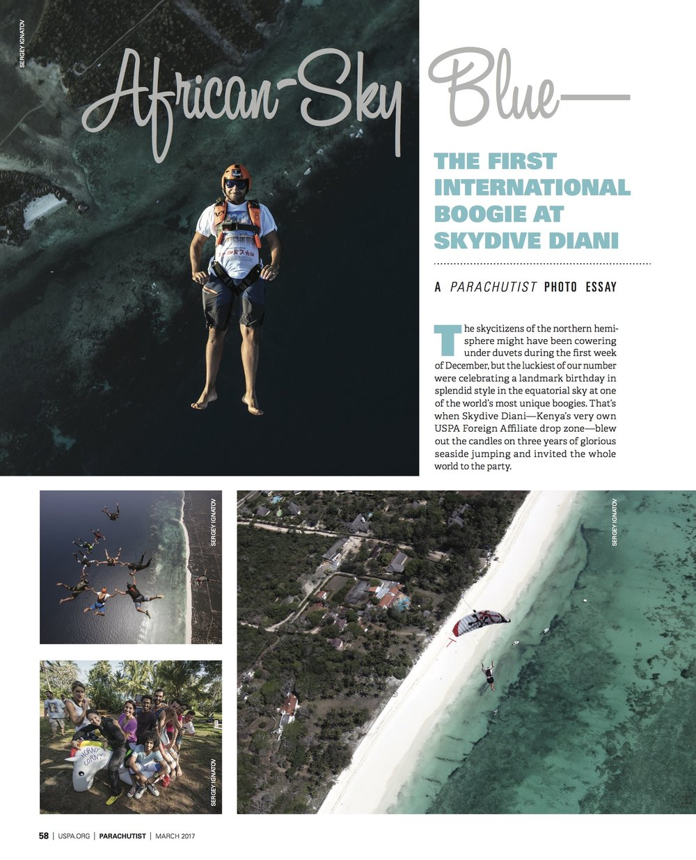 African Sky Blue: The Skydive Diani International Boogie