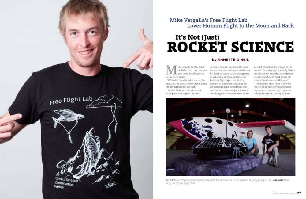 Mike Vergalla & the Free Flight Lab