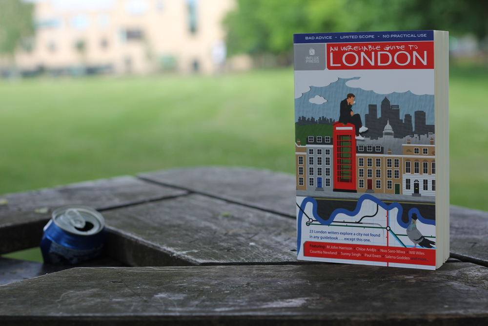 An Unreliable Guide to London – £9.99 paperback / £3.99 eBook