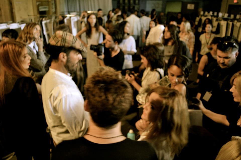 Backstage Gen Art Platform - New York Fashion Week September 2012