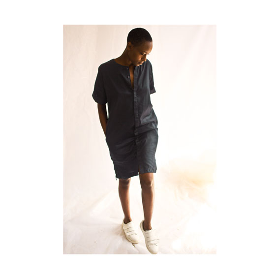 BULEH SHIRT DRESS