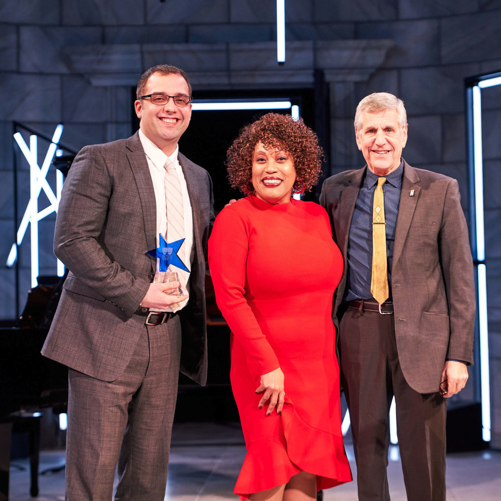 """Dobama wins a """"Kathy"""" Award - Dobama Theatre Receives Kathryn V. Lamkey Award from Actors' Equity Association for Equity, Diversity & Inclusion On and Off-Stage.""""While we are beyond grateful for this recognition, I think we would agree that we will all truly celebrate when inclusivity in programming, casting, and hiring is the norm. It should be as instinctual as holding the door open for the person behind you or serving your neighbor before you serve yourself at the dinner table."""" - Artistic Director Nathan Motta in his acceptance speech."""