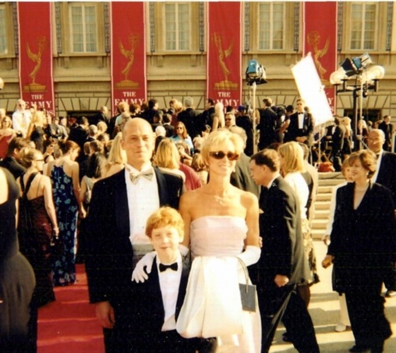 Primetime Emmy Awards  Los Angeles 2001 with Laura & Jens Josephs