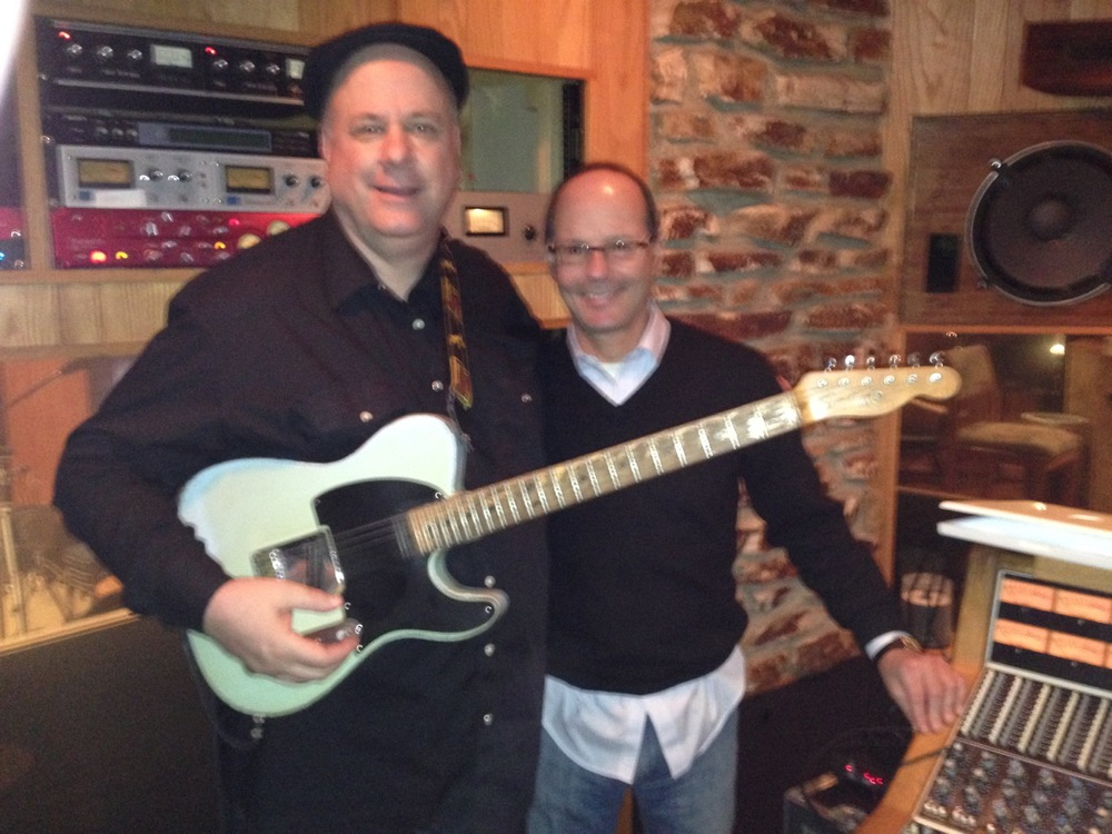 Guitarist Dave Chappell and Director Tom Herman
