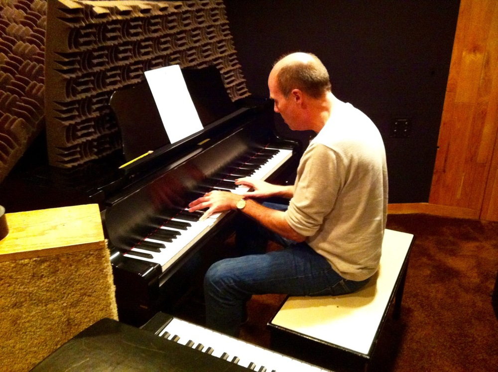 Robert Redd on piano