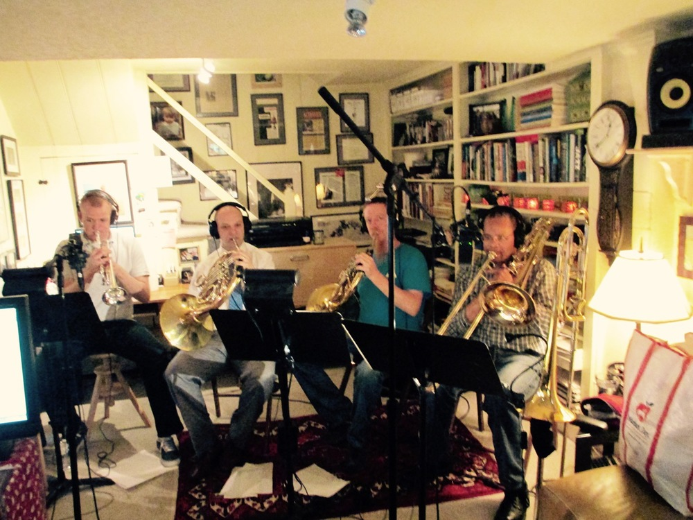 Brass overdubs for Army Theatre film