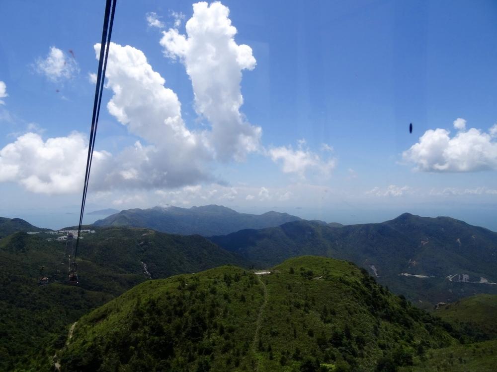 Cable Car Lantau Island Hong Kong