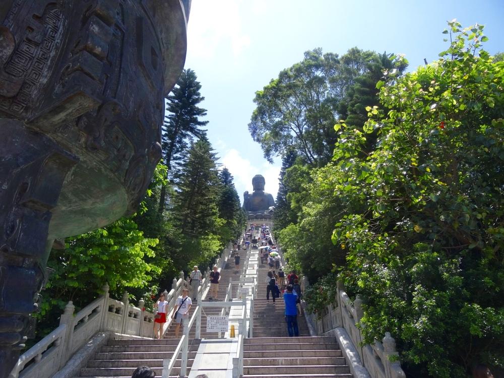 Giant Buddha Lantau Island Hong Kong