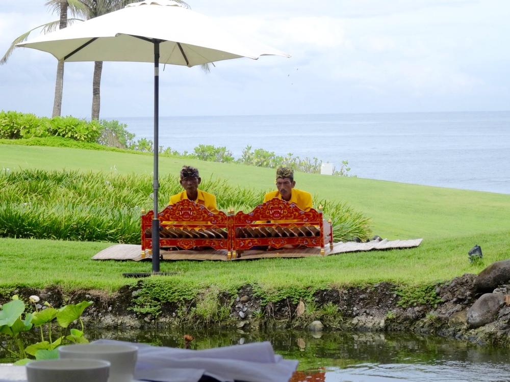 Gamelan music in Bali