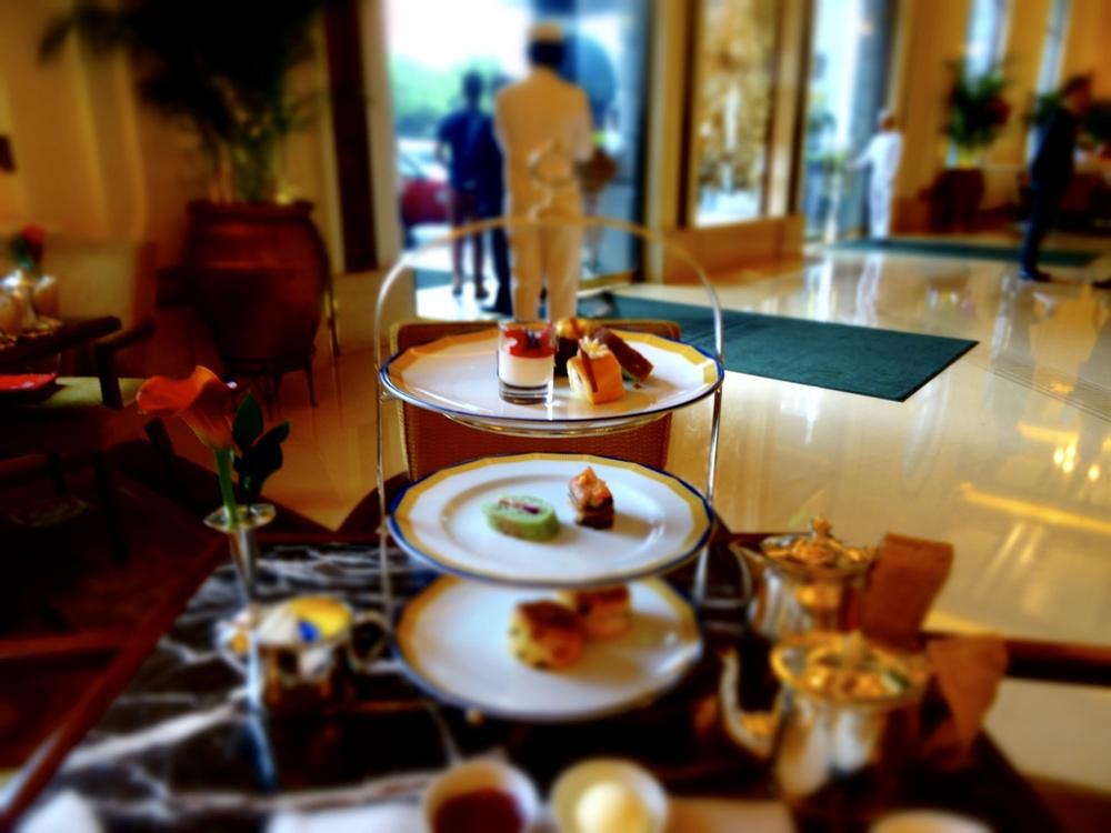 High Tea at the Peninsula Hotel Hong Kong