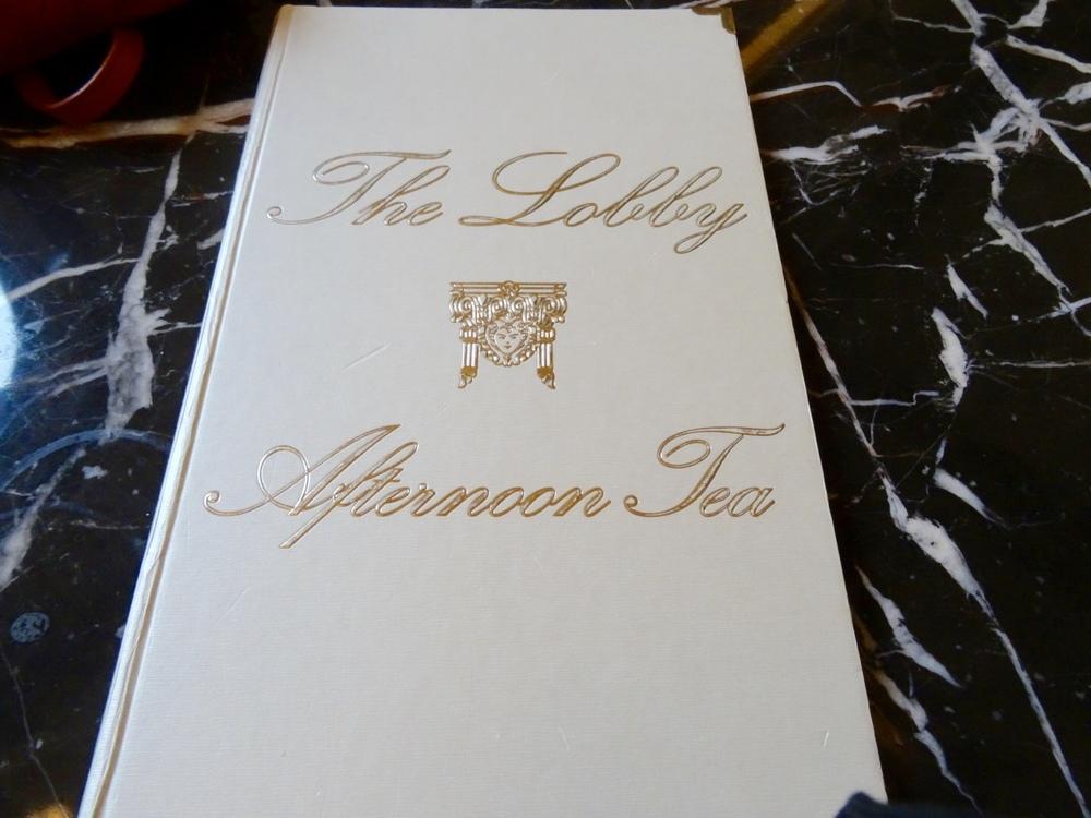 The Lobby Afternoon Tea