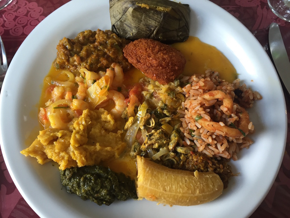 Bahian Cuisine in salvador,Brazil