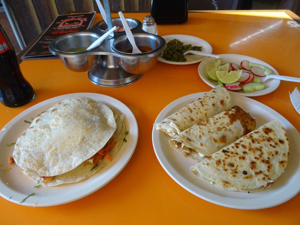 el fogon - quesadillas and la gringa